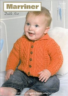 11050 Cardigans and Sweater in DK