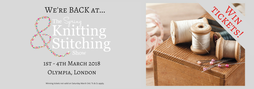 Win ticfkets for the Knitting and Stitching show at London Olympia