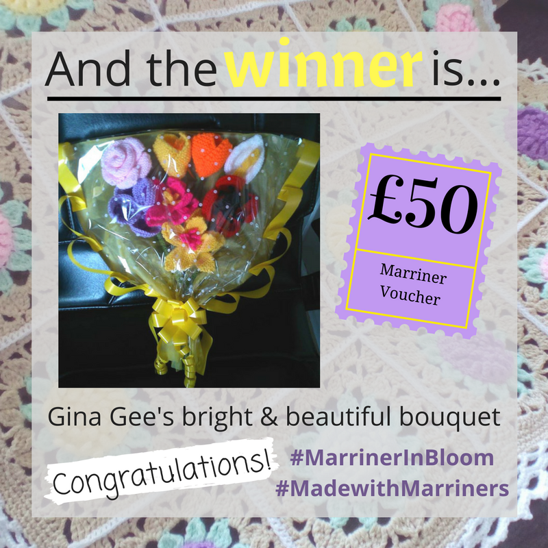 #MadewithMarriners MArch competition winner | Congratulations Gina Gee