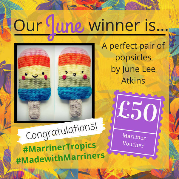 #madewithmarriners June winner