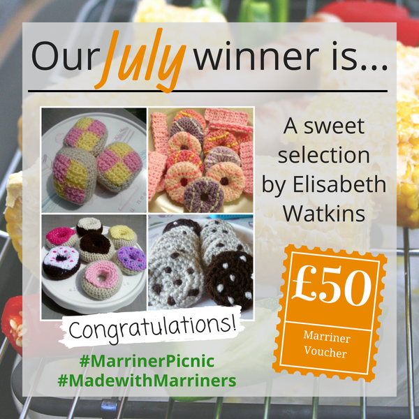 #MadewithMarriners July winner