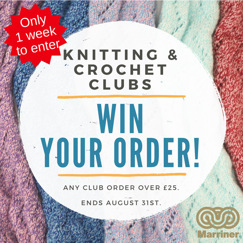 Knitting & Crochet clubs | enter to win your order back