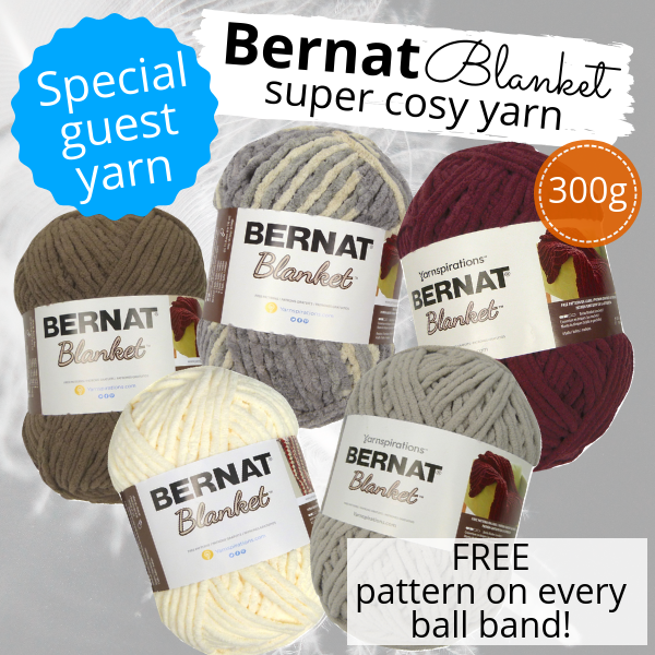 Marriner Yarns | Special Guest Yarn | Bernat Blanket Yarn