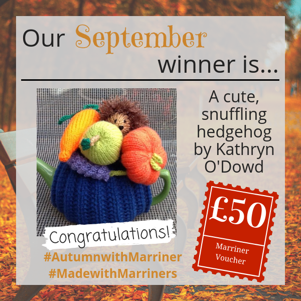 #AutumnwithMarriner winner