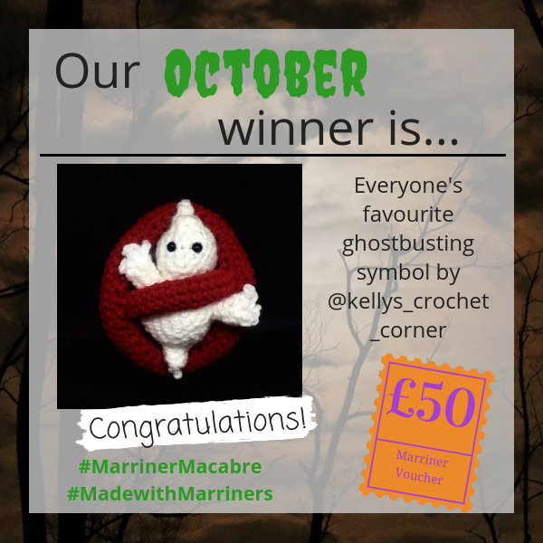 #MadewithMarriners October winner