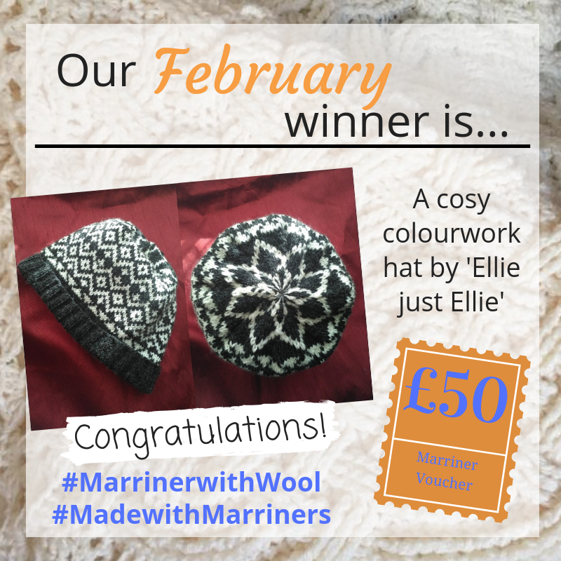 Our February #MadewithMarriners winner