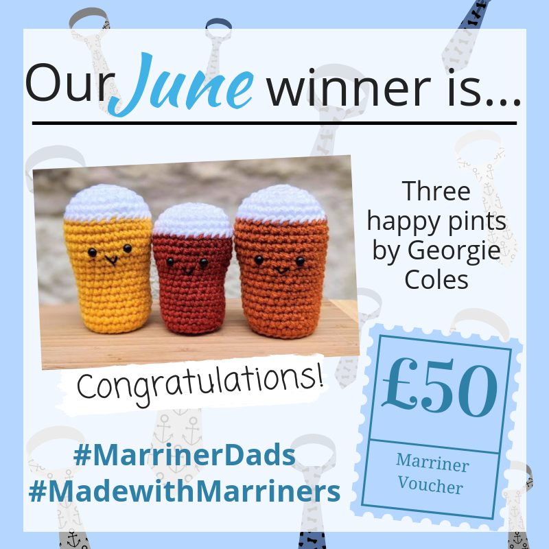 Congratulations on winning our June #MadewithMarriners competition