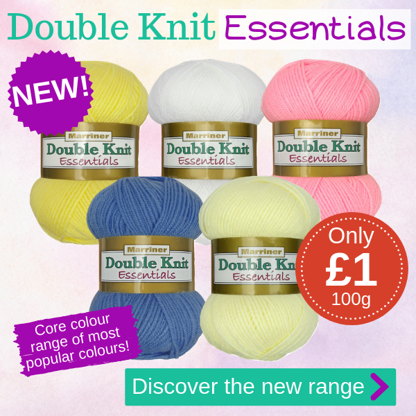 NEW Marriner DK Essentials range | Only £1 per 100g ball