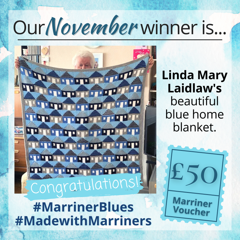 Our #MarrinerBlues November winner is...
