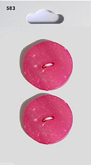 Pink Round Shell Effect Buttons 583