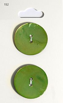 Green Round Shell Buttons 152