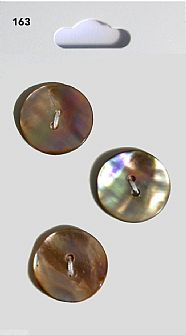 Brown Shell effect Round Buttons 163