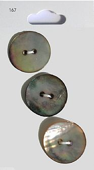 Grey Shell effect Round Buttons 167