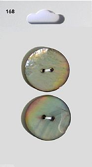 Grey Shell effect Round Buttons 168
