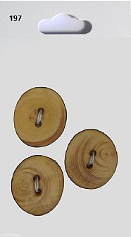 Wooden Round Buttons 197
