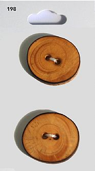 Wooden Round Buttons 198