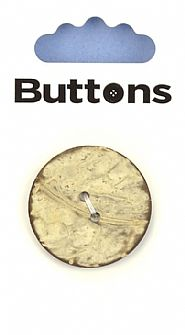 Wood effect Round Button 192