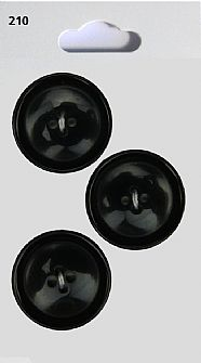 Black Round Swirl Effect Buttons 210
