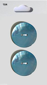 Blue Round Shell effect Buttons 104