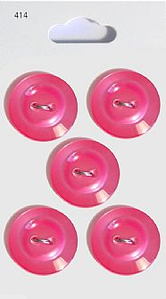Pink Rimmed Round Buttons 414