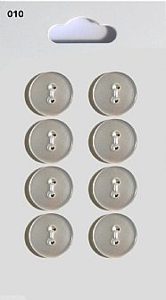 Clear Round Buttons 010