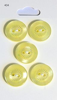 Lemon Round Rimmed Buttons 404
