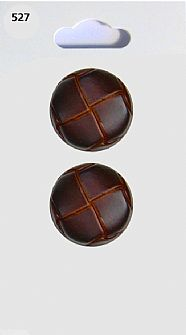 Leather effect Round Buttons 527