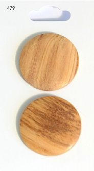 Wooden Round Buttons 479