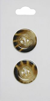 Brown Shell Effect Buttons 445