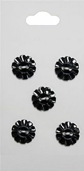 Black Rimmed Buttons 487