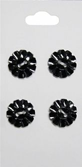 Black Rimmed Buttons 488