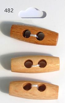 Wooden Toggle Buttons 482