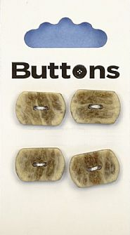 Wood Effect Rectangle Buttons 190