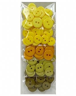 Yellow Ombre Button Pack