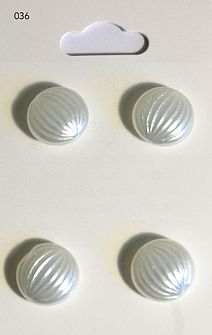 Pearl Effect Domed Buttons 036