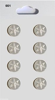 Clear Round Star detail Buttons 001