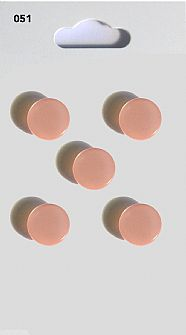 Pink Round Domed Buttons 051