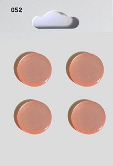 Pink Round Domed Buttons 052