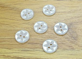 Clear Round Star detail Buttons 003