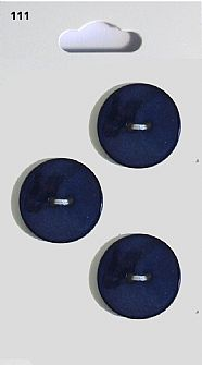 Navy Round Buttons 111