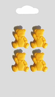 Yellow Teddy Buttons 148