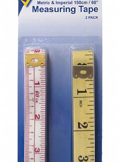Measuring Tape 2 pack 150cm (60in)