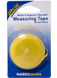 Retractable Measuring Tape 150cm (60in)