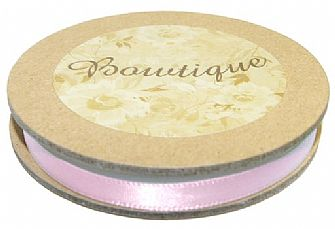 Satin Ribbon Pink 6mm