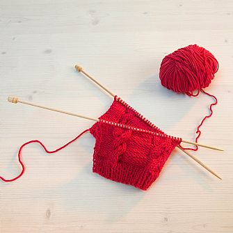 Bamboo Knitting Needles 33cm