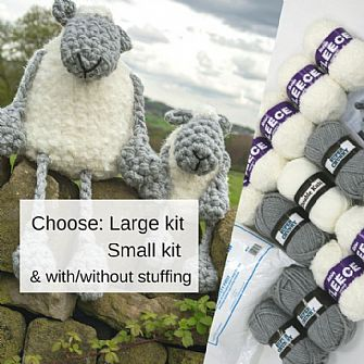 Fluffy Sheep Crochet Kit - Limited Edition