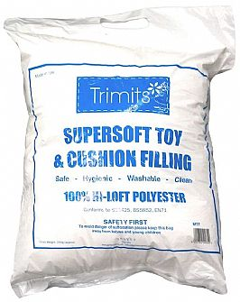 Supersoft Hollow Fibre Polyester Toy Filling 250g