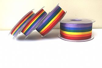 Rainbow Ribbon - 1m lengths