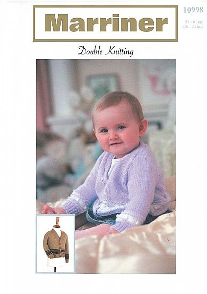 10998 Childs Cardigan in DK