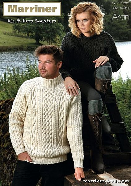 35701 Jumper in Aran